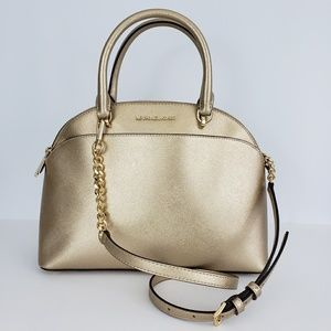 Micheal Kors Leather Satchel